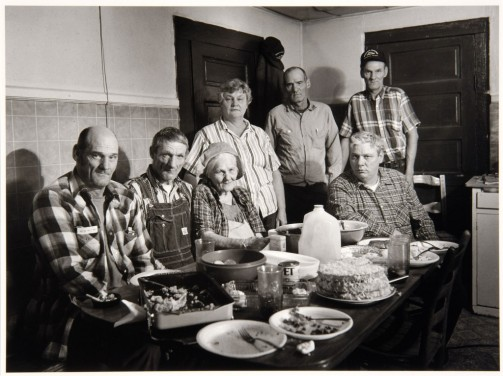 """Mamie Neugent's 81st (?) Birthday with Family,"" 1989"