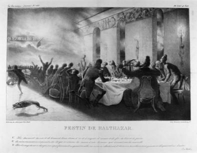 """""""Belshazzar's Feast,"""" 1834"""