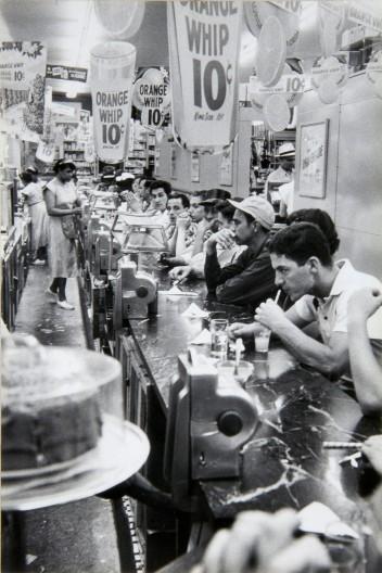 """""""Drugstore, Detroit, 1955-56"""""""