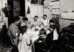 """Meal Time, Tenement, New York City,"" 1910"