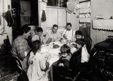 """""""Meal Time, Tenement, New York City,"""" 1910"""
