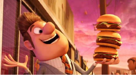 Cloudy With A Chance Of Meatballs 2009 The Feast In Visual Arts And Cinema