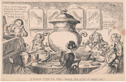 """A Good Cup of Tea (When the Duty Is Taken Off)"""